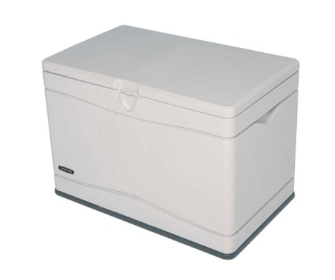 Lifetime Sheds 80 Gallon Plastic Deck / Storage Box