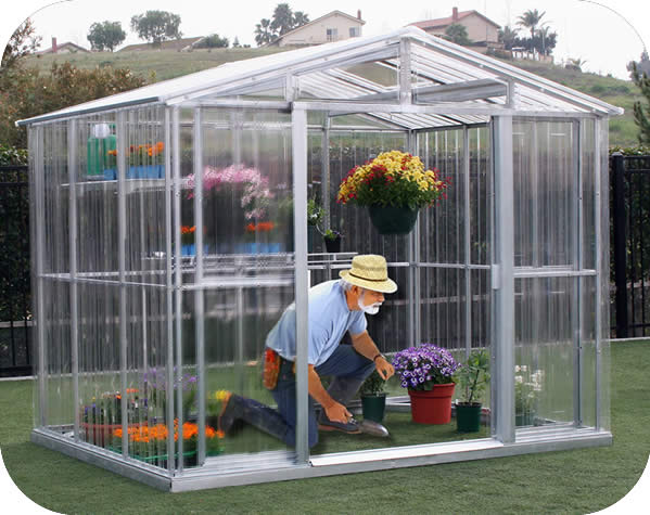 DuraMax 8x6 Metal Outdoor Greenhouse Kit