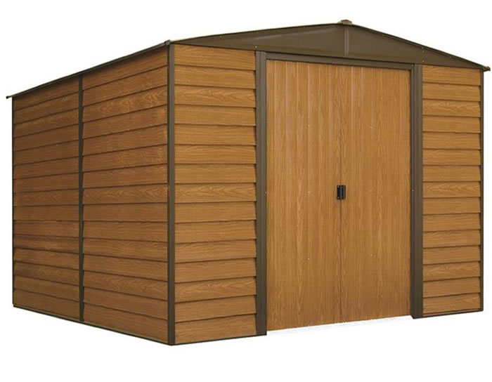 Arrow 10x12 Woodridge Metal Storage Shed Kit