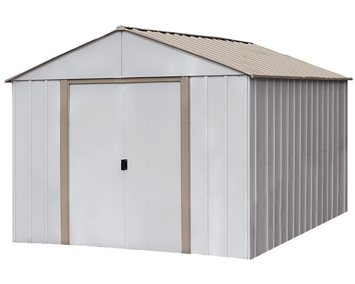 Arlington 10x8 Arrow Storage Shed 10x14 Oakbrook Steel Kit