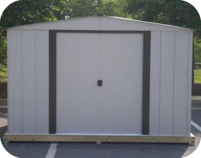 Special clearance sales dirt cheap storage sheds sales for Cheap metal sheds