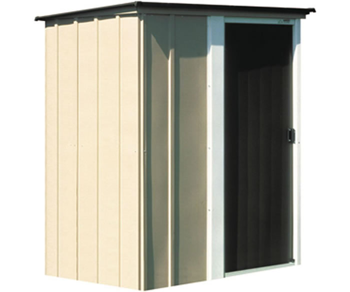 brentwood 5x4 arrow metal storage shed kit - Garden Sheds Small