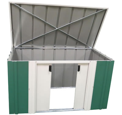 Arrow 6x3 Horizontal Metal Garden Storage Shed Kit
