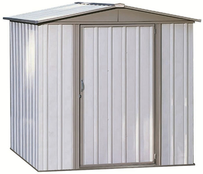how to paint a metal storage shed 1