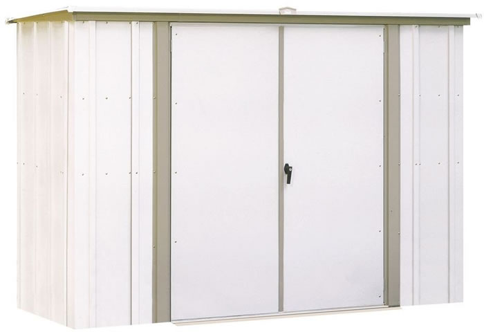 garden shed 8x3 arrow storage shed - Garden Sheds Small