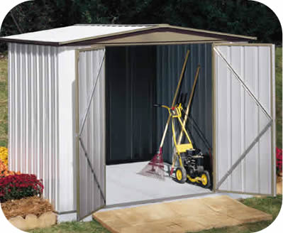 Sentry 8x5 Arrow Metal Storage Shed Kit