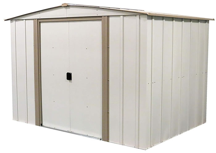 Salem 8x6 Arrow Metal Storage Shed Kit