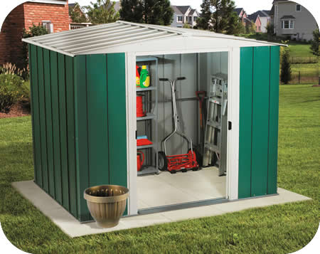 A gambrel shed for my back yard or perhaps it really is a for Cheap metal sheds