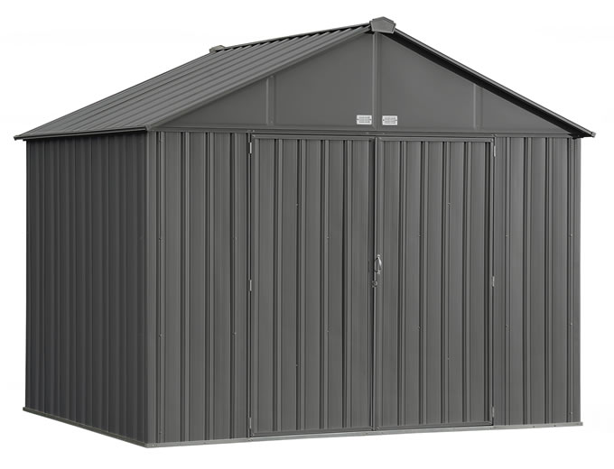Arrow 10x8 Ezee Storage Shed Kit - Charcoal