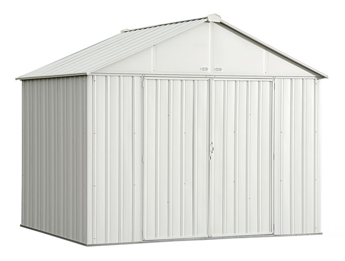 Arrow 10x8 Ezee Storage Shed Kit - Cream