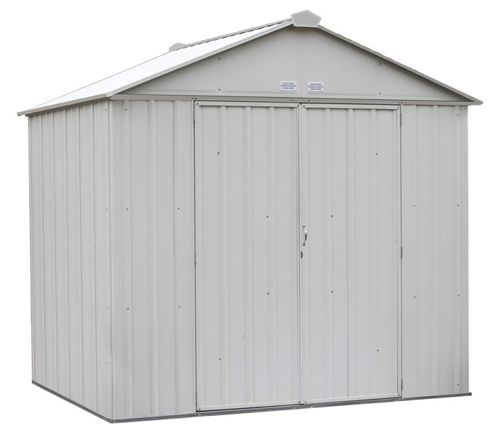 Arrow 8x7 Ezee Storage Shed Kit - Cream