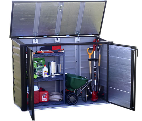 Arrow 5x3 Versa Shed - Top Opens For Easier Access!