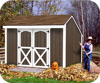 Best Barns Aspen 10x8 Wood Storage Shed Kit