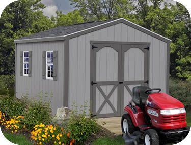 Best Barns Elm 10x8 Wood Storage Shed Kit