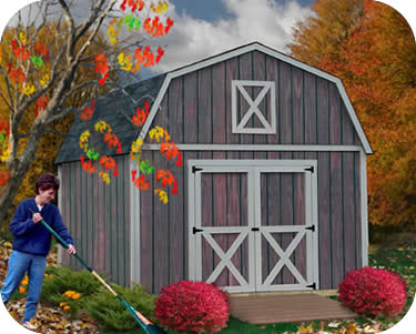 Best Barns Denver 12x12 Wood Storage Shed Building Kit