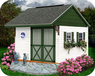 Best Barns Clarion 10x10 Wood Storage Shed Kit