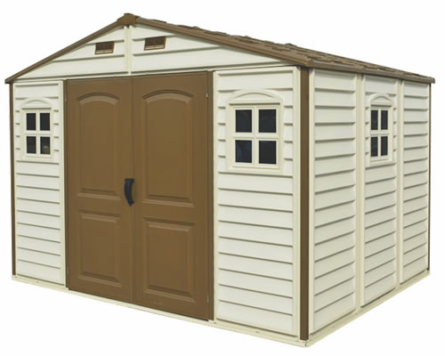 Vinyl Sheds Pvc Amp Coated Steel Storage Shed Kits