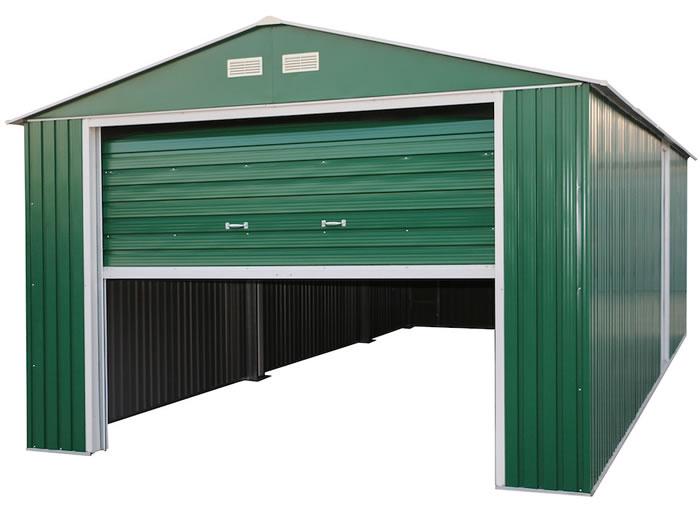 garage strew building