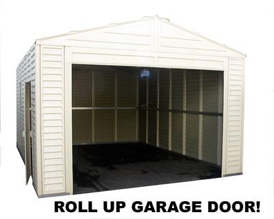 Duramax Sheds 13x18 Vinyl Storage Garage Barn 02015