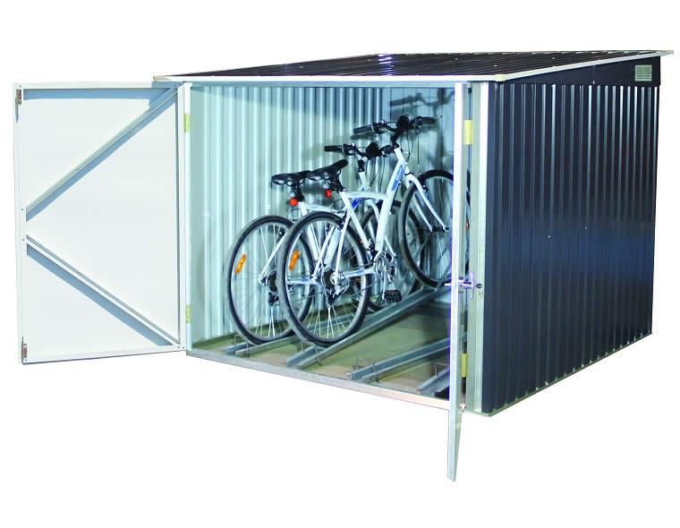 Duramax 6x6 Metal Bicycle Storage Shed Kit  sc 1 st  ShedsForLessDirect.com & Duramax 6x6 Metal Bicycle Storage Shed Kit (73051)