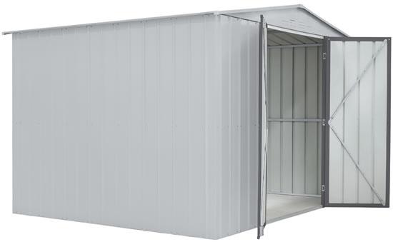 Globel 10x8 Metal Shed Kit GL1003 - Swing Open Doors