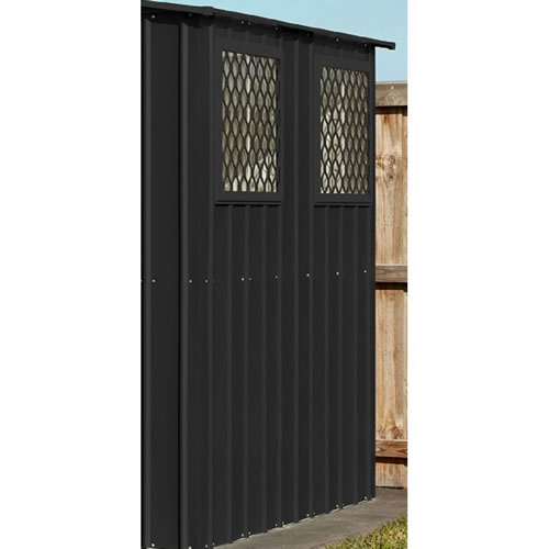 Globel 4x6 Storage Shed Optional Windows