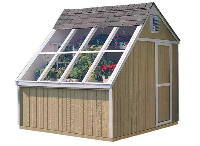 Handy Home Phoenix 8x10 Solar Shed Greenhouse Kit