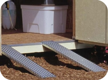 Handy Home Sheds Metal Ramps Pair