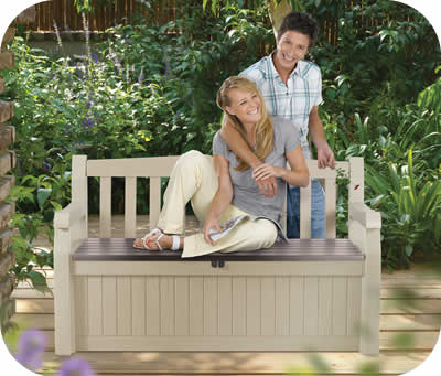 Keter Sheds 70 Gallon Eden Garden Bench Box