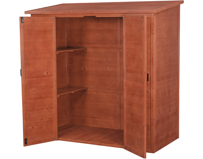 leisure season 6x3 large wood storage shed kit - Garden Sheds 6 X 3