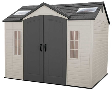 Lifetime 10x8 Side Entry Storage Shed w/ Floor