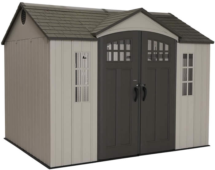 Lifetime 10x8 Vertical Siding Shed Kit w/ Floor