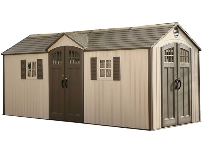 Lifetime 20x8 New Style Storage Shed Kit w/ Floor