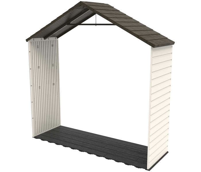 Lifetime 8' Storage Shed Extension Kit