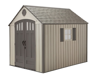 Lifetime Sheds 8x10 Modern Storage Shed Kit w/ Floor