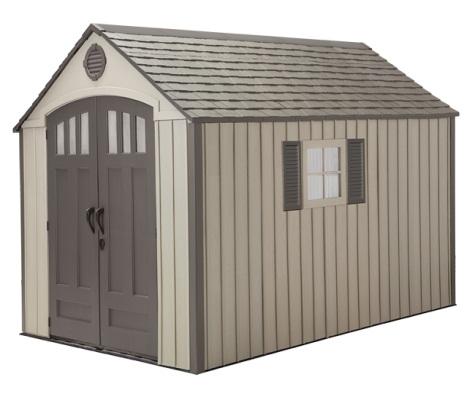 Shedfor outdoor storage sheds plastic resin for Resin storage sheds