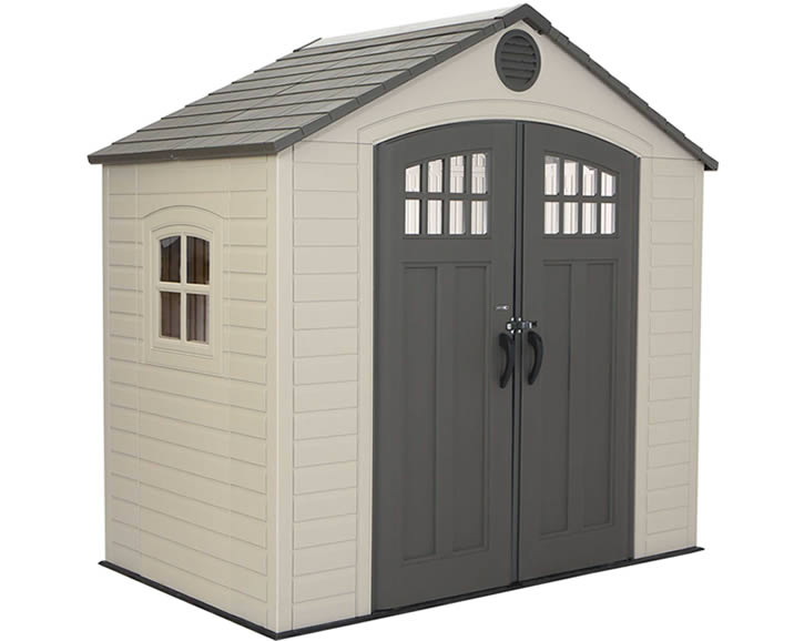 Lifetime 8x5 New Style Plastic Storage Shed Kit