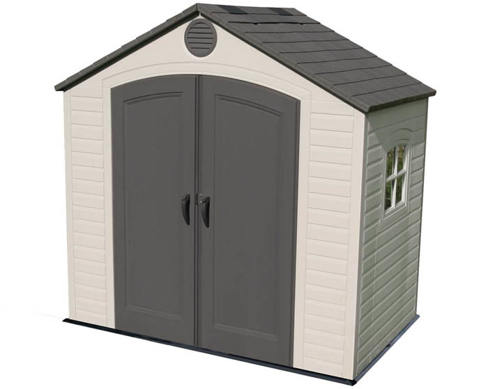 Lifetime sheds plastic storage shed kits for Garden shed 8x5