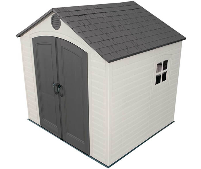 Lifetime 8x7 Storage Shed Kit w/ Floor