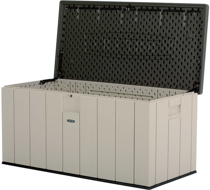 Lifetime Heavy-Duty 150 Gallon Deck Storage Box