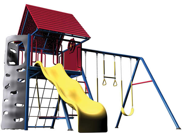 Lifetime Deluxe Multi-Color Playset w/ Clubhouse