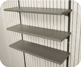 Lifetime Shed 30 inch Shelf Kit - 3 Shelves Included