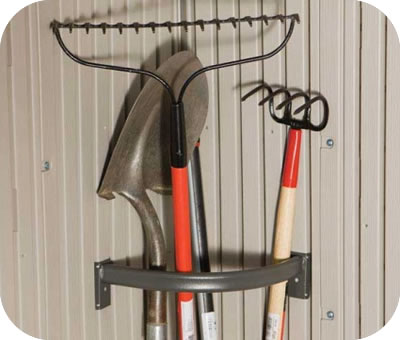 Lifetime Tool Corral for Lifetime Storage Sheds