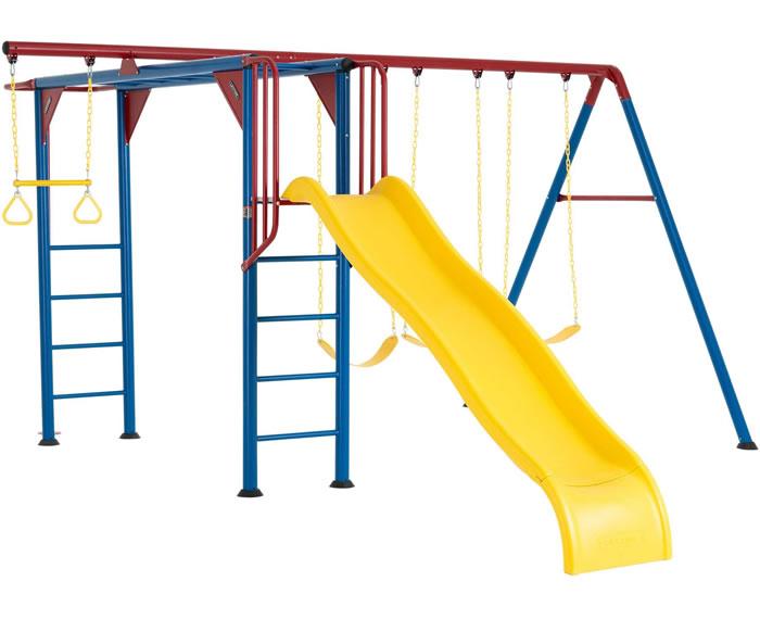 Lifetime Monkey Bar Swing Set Playground - Primary Colors [90177]