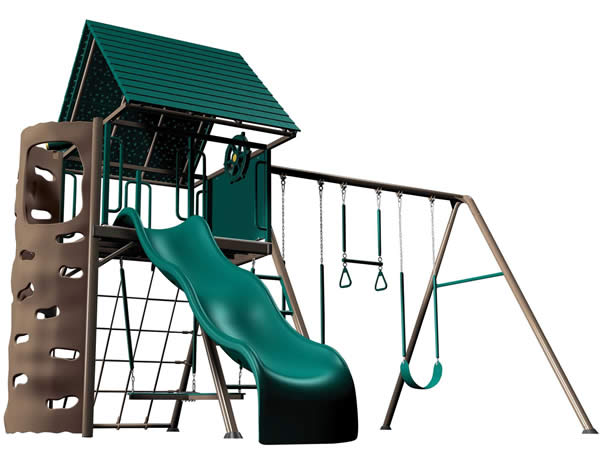 Playground Amp Playsets Lifetime Multi Color Amp Earthtone