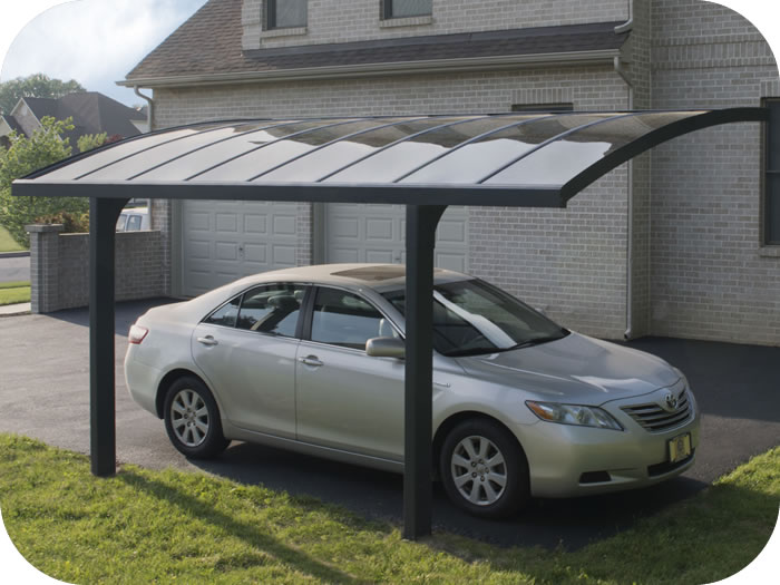 Palram 10x16 Arizona Breeze 5000 Metal Carport Kit
