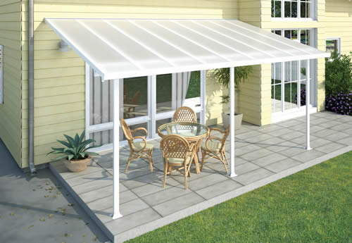 Palram 10x20 Feria Patio Cover Top View