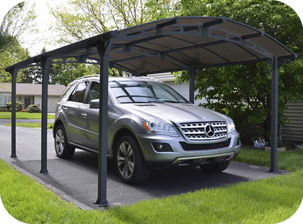 Palram 16x12 Arcadia 5000 Metal Carport Kit
