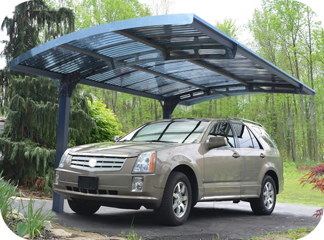 Palram 10x16 Arizona Wave 5000 Metal Carport Kit