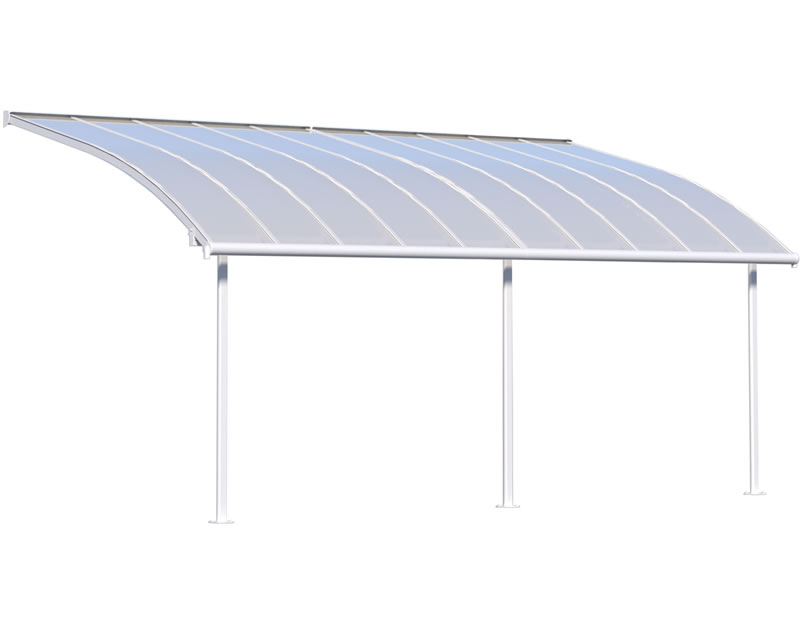 Palram 10x20 Joya Patio Cover Kit - White